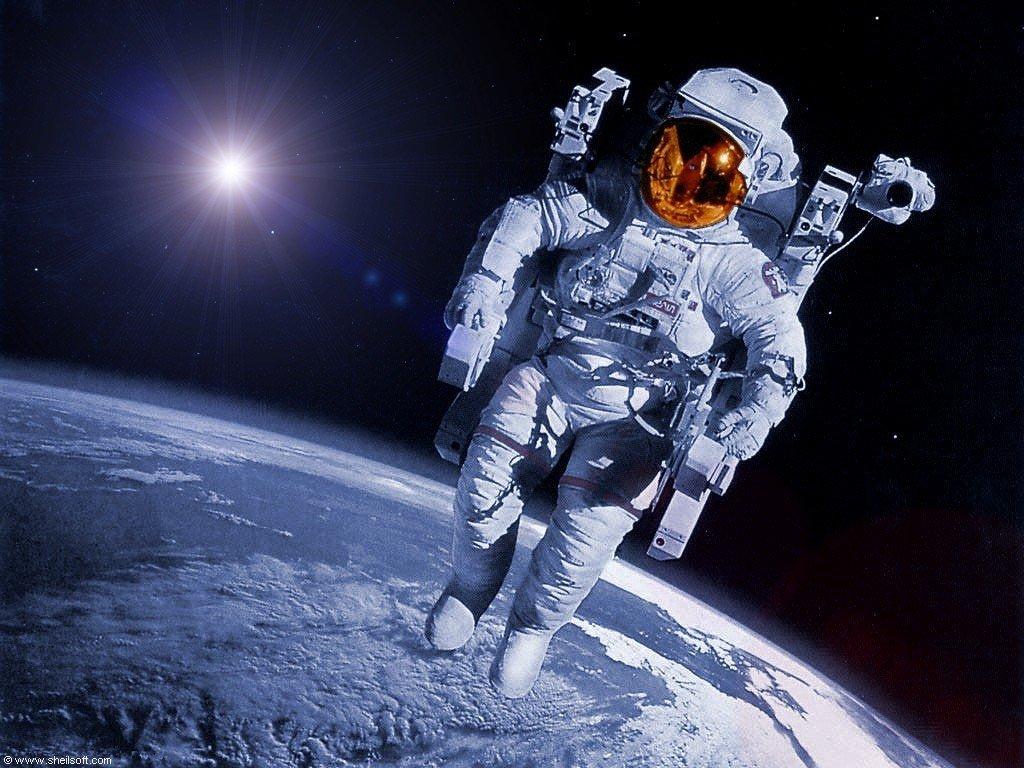 Картинки с изображением космоса и космонавтов